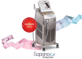 Soprano ICE Machine Laser Hair Removal
